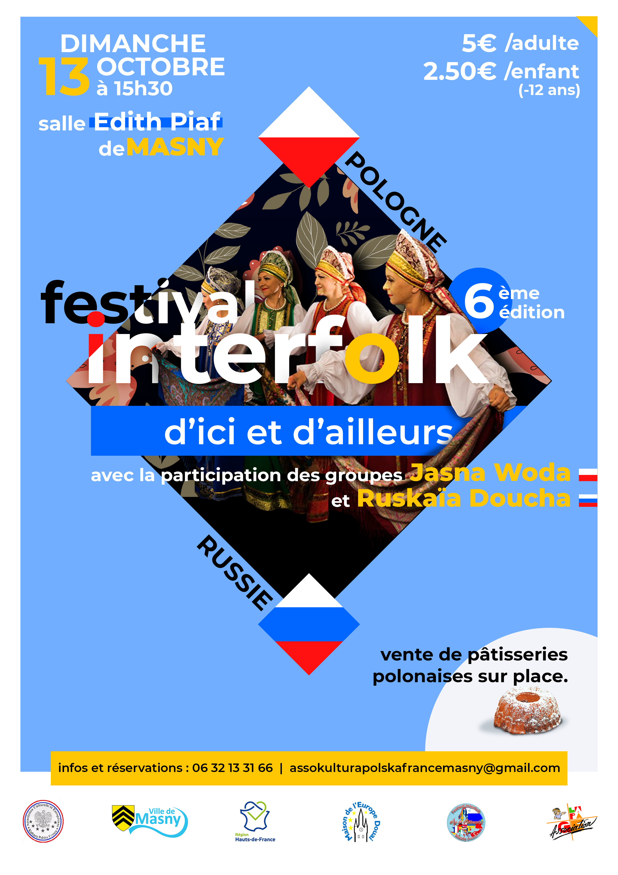 FESTIVAL INTERFOLK D'ICI ET D'AILLEURS @ SALLE EDITH PIAF