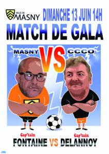 Football : Match de Gala @ Stade Guy Drut
