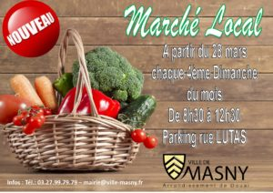 Marché local @ Parking rue Lutas