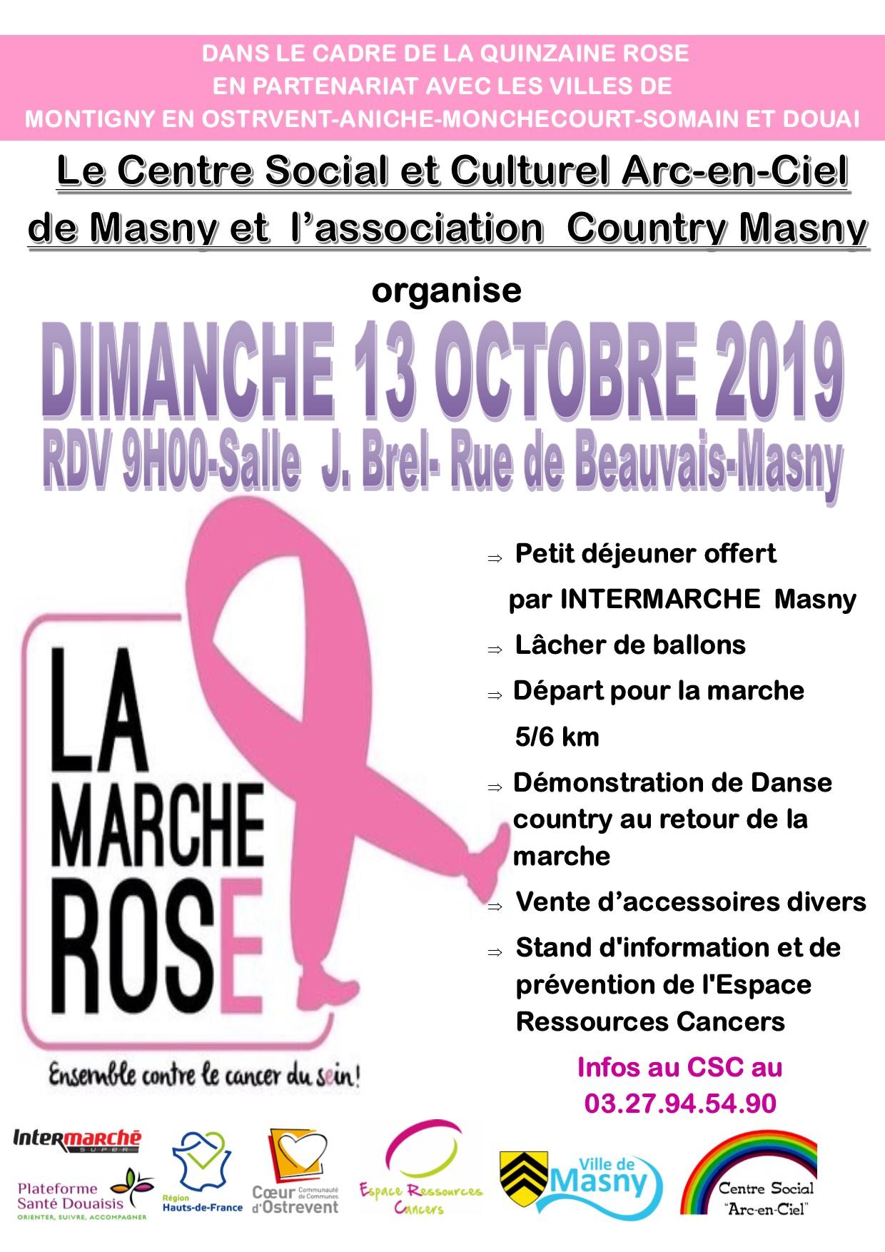 Octobre Rose @ Masny