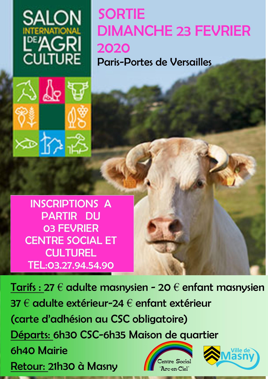 Sortie au salon de l'agriculture @ Paris-Portes de Versailles